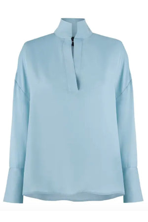 GRACE SHIRT in BABY BLUE