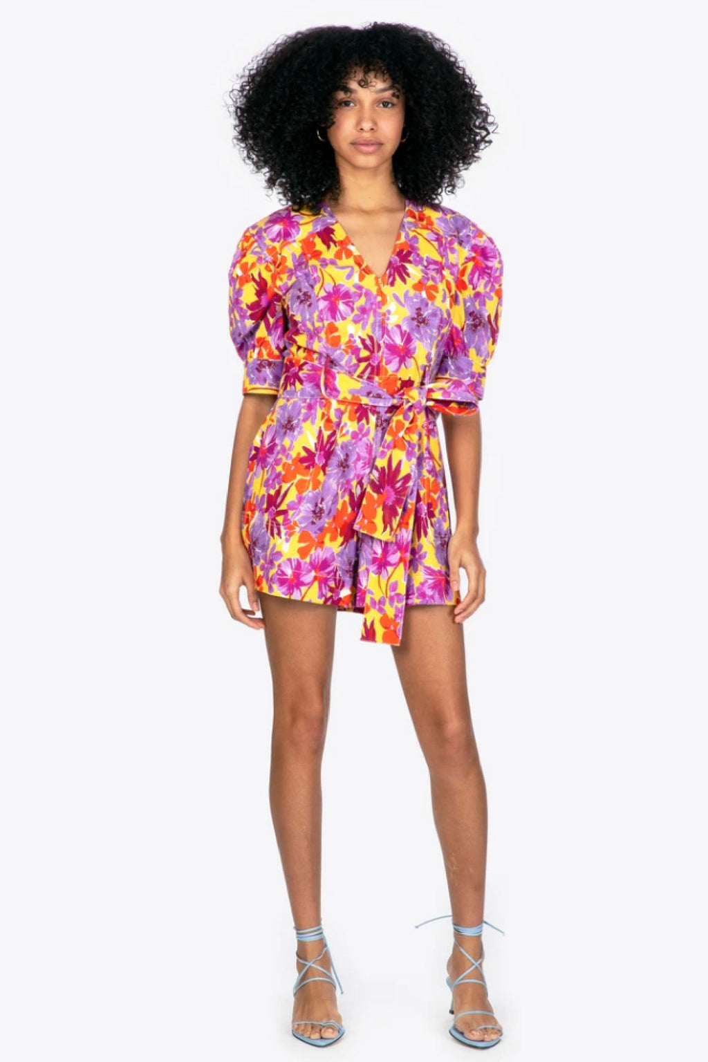 BECKY ROMPER - HIBISCUS FLOWER