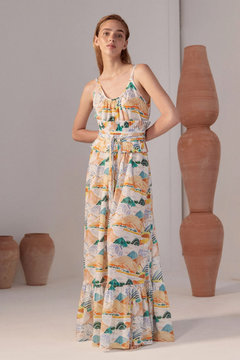 TITI DRESS - MONTANAS PRINT
