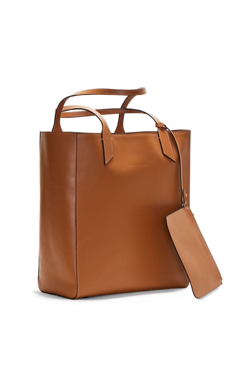 SARAH TOTE in TAN