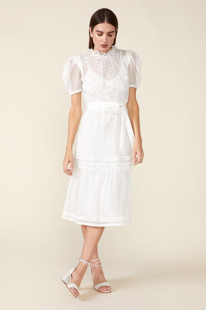 TOMI DRESS in IVORY