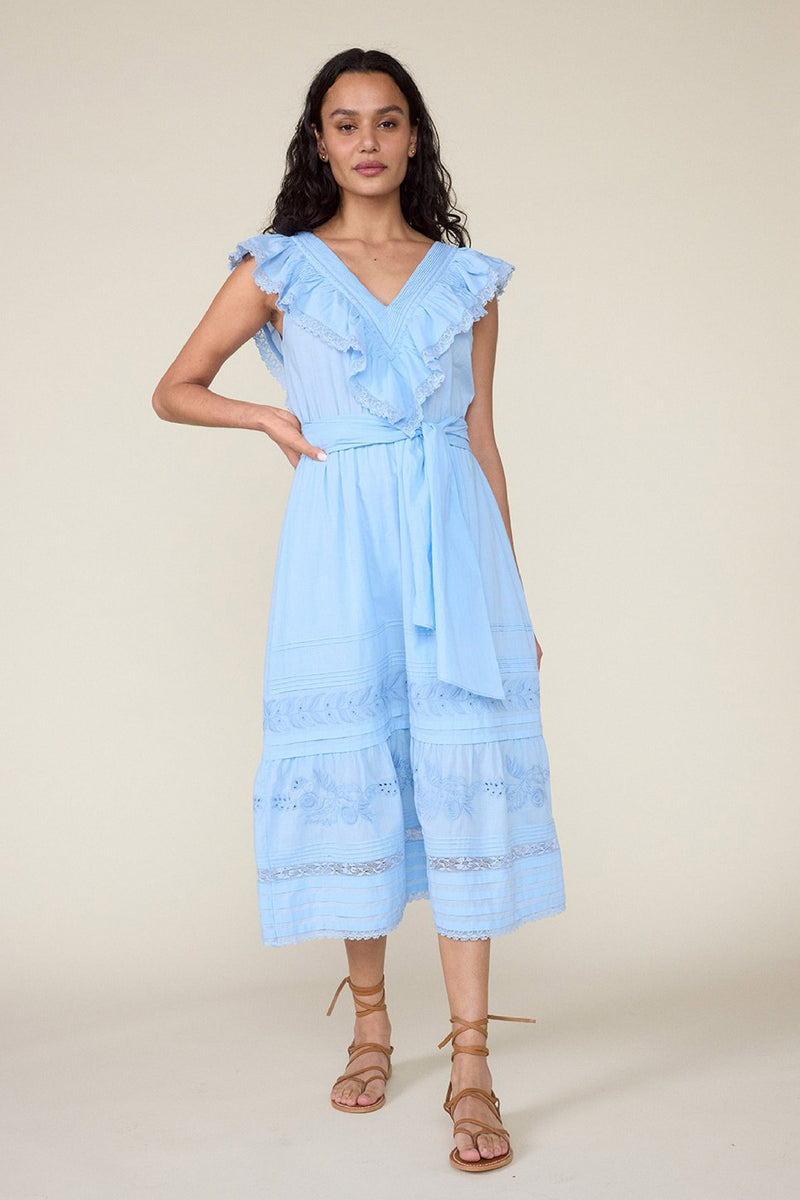 WONDERLAND DRESS – CERULEAN BLUE