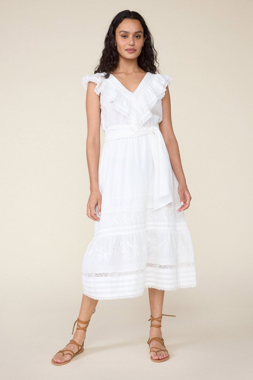 WONDERLAND DRESS - WHITE