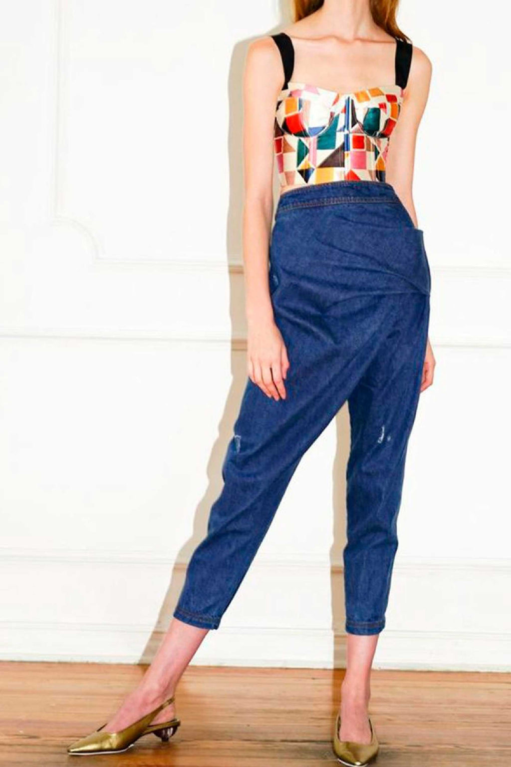 ARIZONA PANT - BLUE