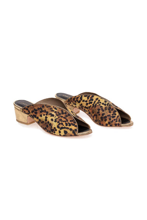 OFFBEAT MULES in LEOPARD