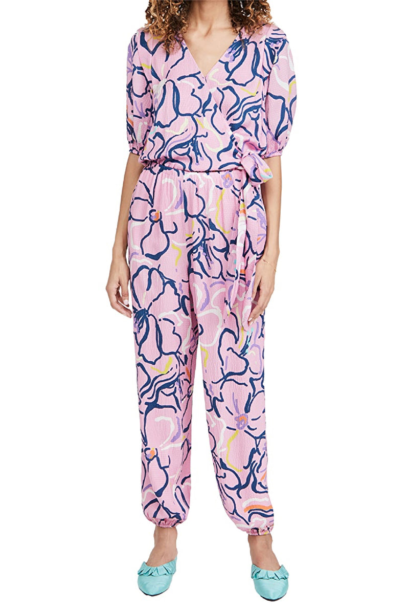 VIRGIL JUMPSUIT in SQUIGGLE