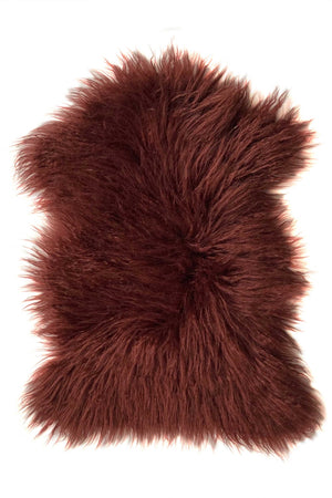 YETI PELT in BURGUNDY