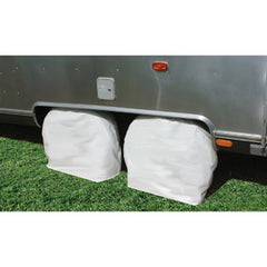 1/Pr  Arctic White  40-42  Tire Cover