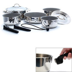 10/pc  Ceramic  Nesting Cookware Set