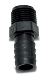 1/2 Barb x 3/8 MPT  Adapter Fresh Water Hose Connector