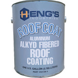 1 gal  Aluminum  Alkyd Fibered Roof Coating