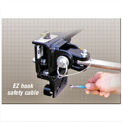 1/pk  EZ Hook Trailer Safety Cable