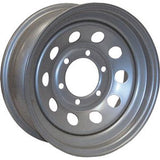 Starlite Silver  5H-4.5 15X5  10-Hole Design Wheel