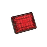 #86  Stop/Tail/Turn Red w/Black Base  Single Taillight
