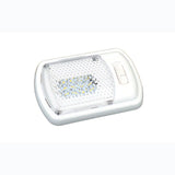 White  Dual Switch  Single  Surface Mount LED Light