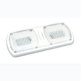 White  Dual Switch  Dual  Surface Mount LED Light