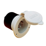White  15 Amp On-Board Charger Inlet