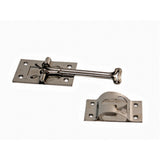 SS  4  Straight  T Style Entry Door Holder