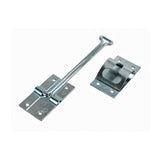 SS  6  Straight  T Style Entry Door Holder