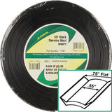 Standard  Black  3/4 x 50\'  Narrow Vinyl Insert Trim