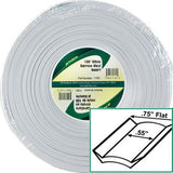 Standard  White  3/4 x 100\'  Narrow Vinyl Insert Trim