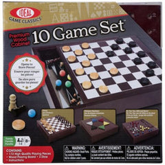 10 Game Set In A Box  Board Game