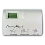 White  Heat  2-Stage  Digital Wall Thermostat