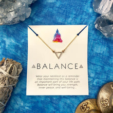 """Balance"" Affirmation Necklace"