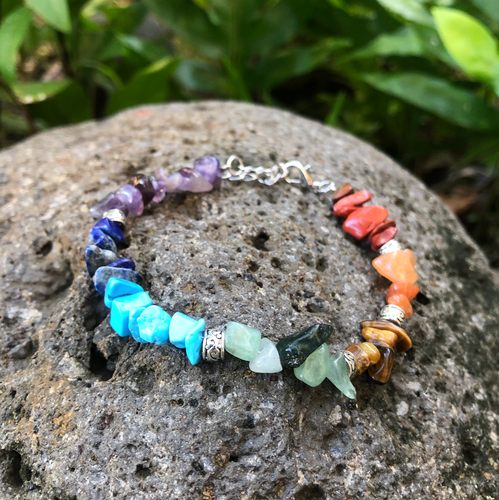 Chakra Gemstone Bracelet for Balance & Alignment