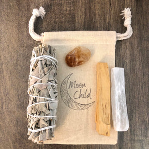 Creativity & Manifestation Smudging & Clearing Kit (Travel Sized)