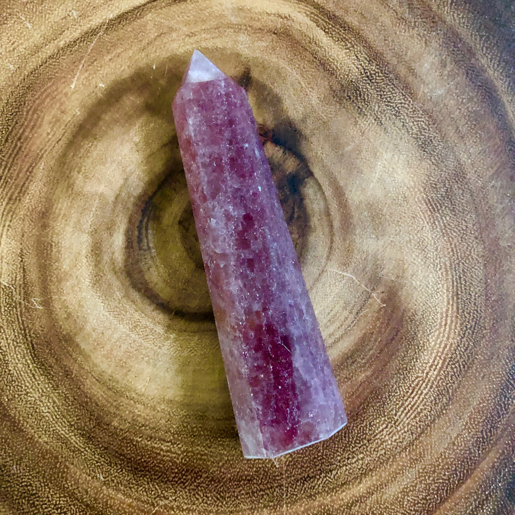 Strawberry Quartz Obelisk Point