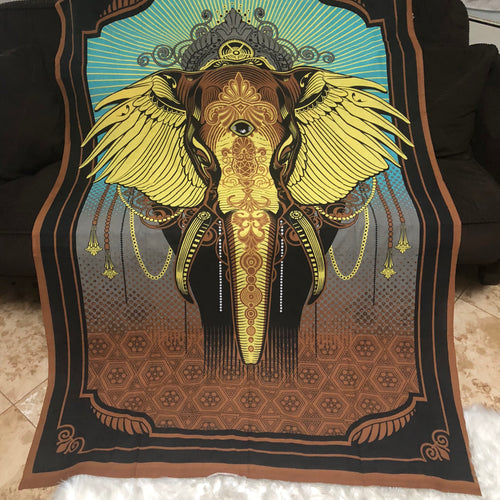 Elephant Third Eye Tapestry