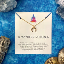 """Manifestation"" Affirmation Necklace"