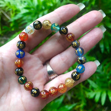 """Meditation & Prayer"" Mantra Bracelet"