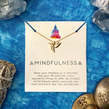 """Mindfulness"" Affirmation Necklace"