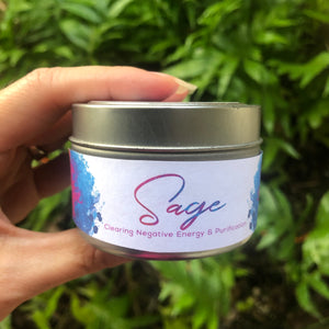 Sage Candle