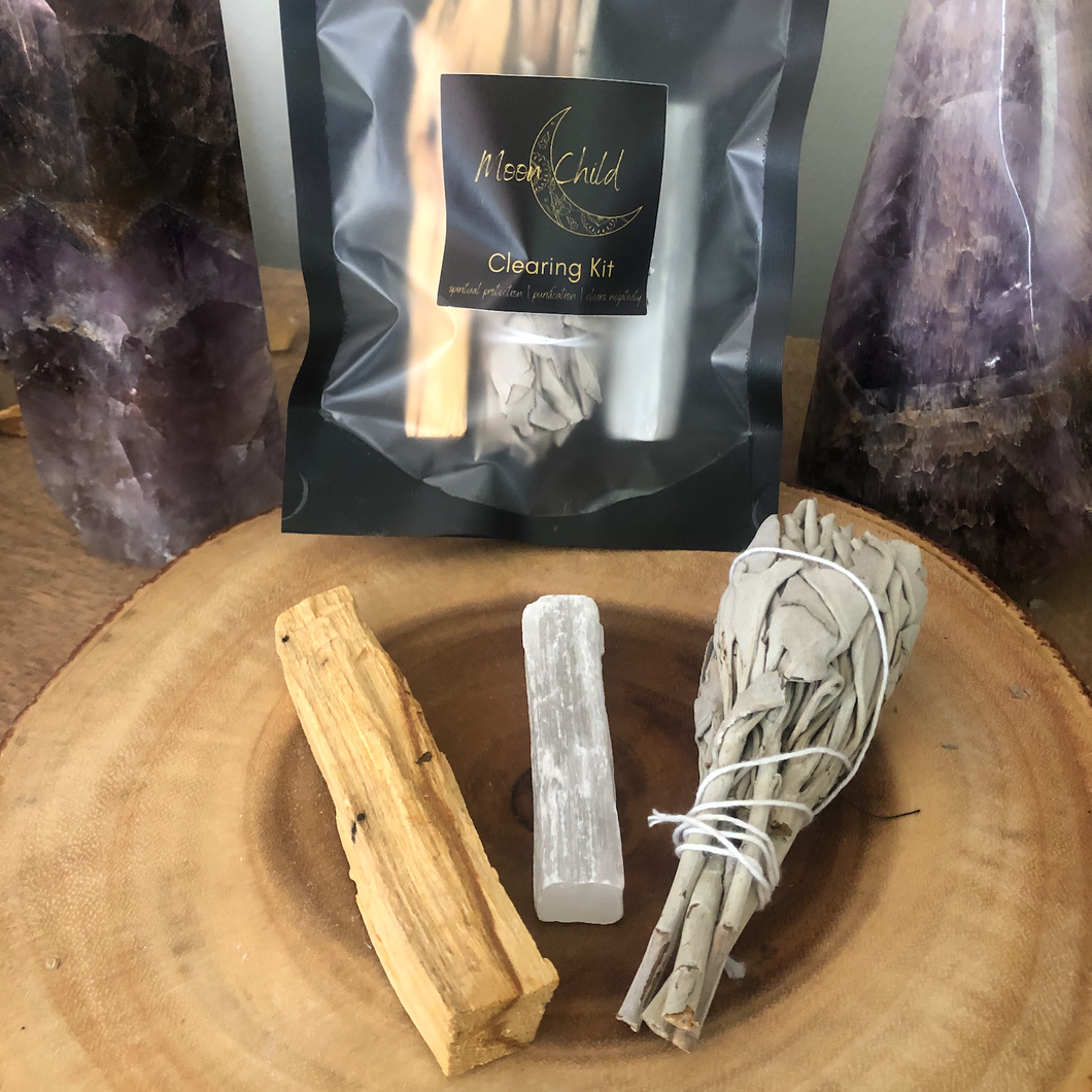 Mini Home Travel Smudging & Clearing Kit