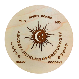"5"" Maple Wood Pendulum Spirit Board"
