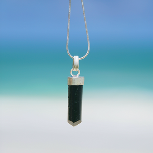 "Tourmaline Necklace ""Smooth"""