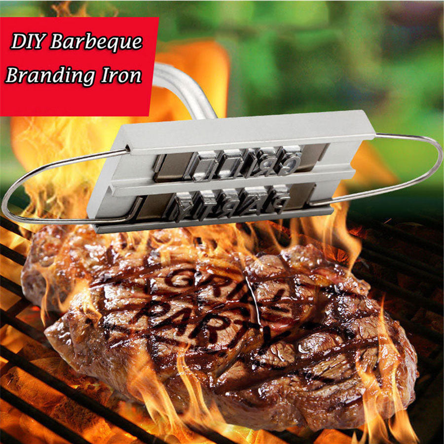 Barbecue Hot Stamp - Brand Your Meat - BUY 1 GET 1 FREE