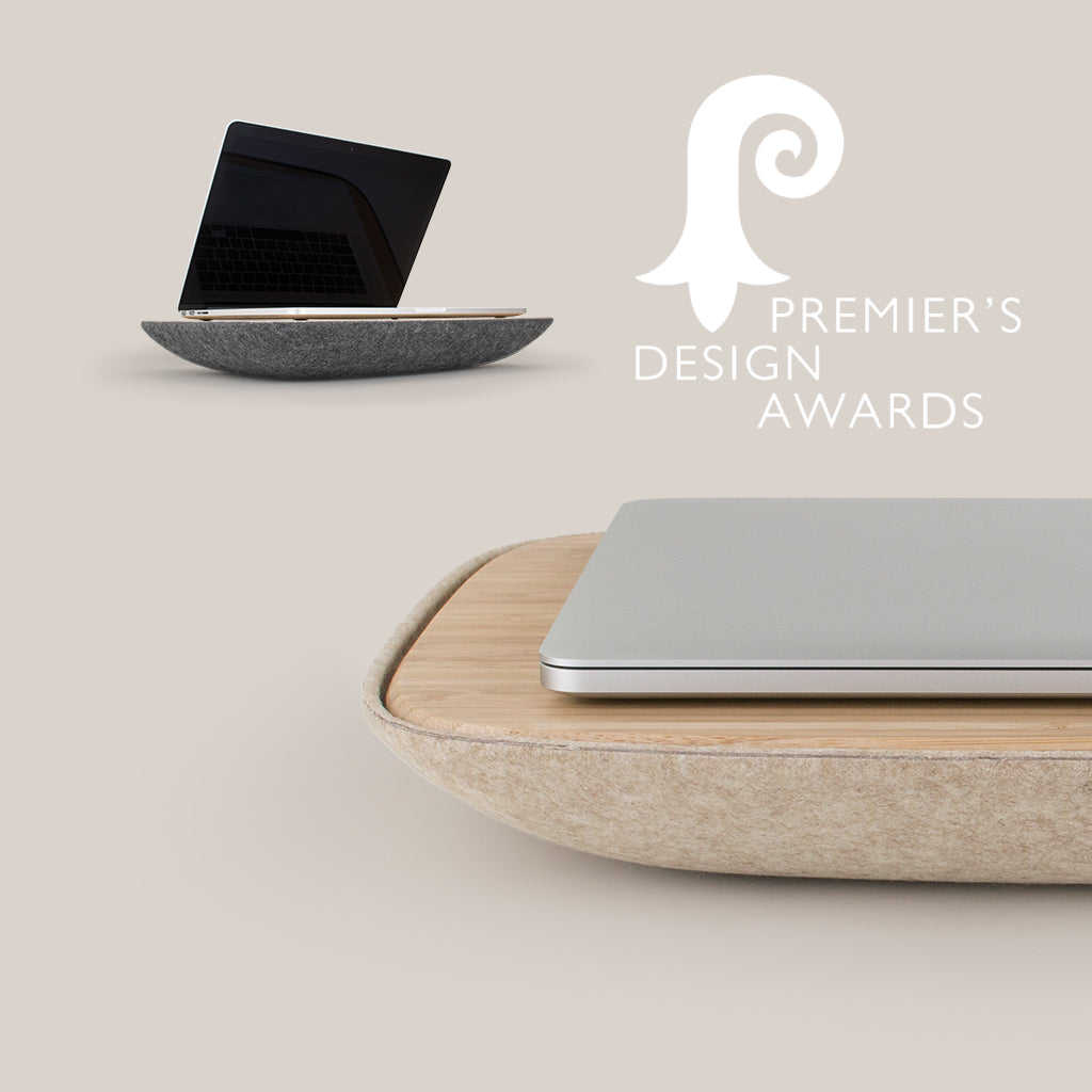 Premier's Design Award 2018 - LAPOD lap desk finalist product design
