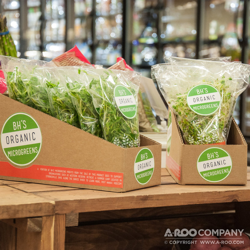 fresh herb & microgreens sleeves