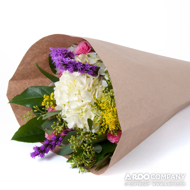bouquet paper sleeves