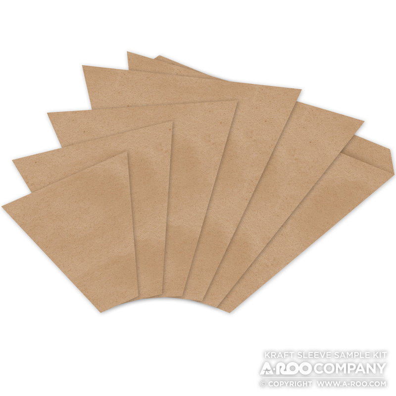 Sample Kit - Kraft Paper Bouquet Sleeves