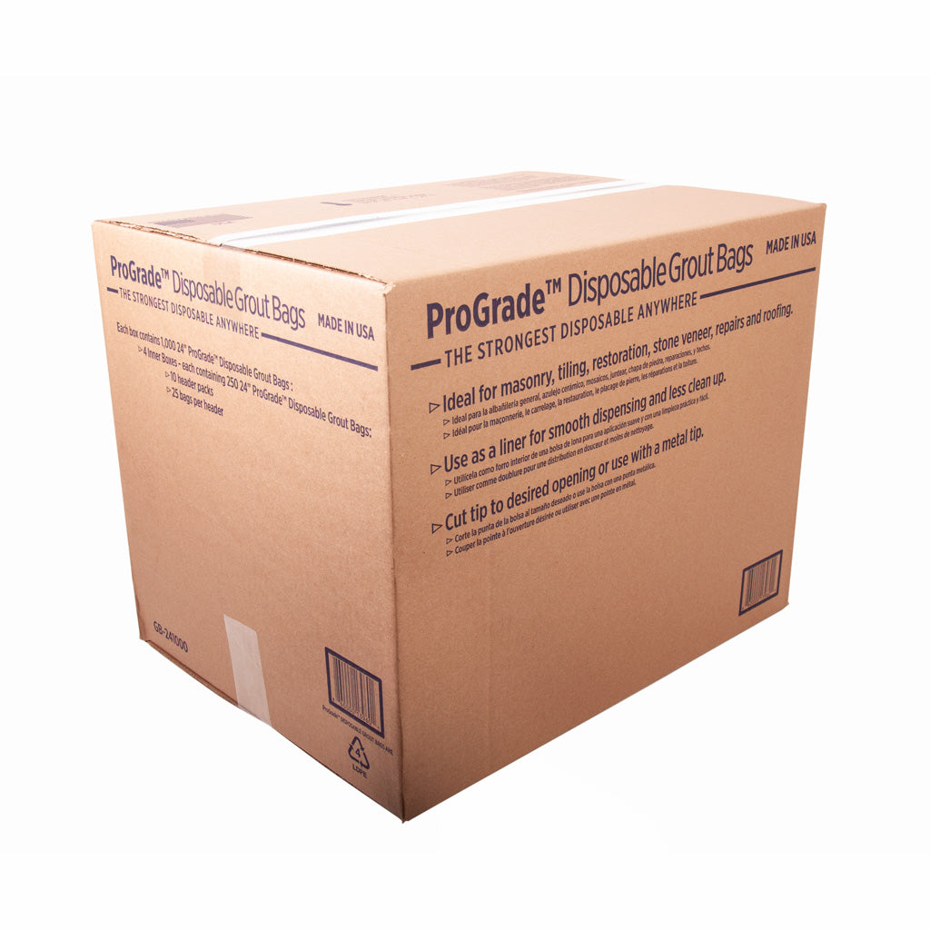 ProGrade Disposable Grout Bags