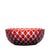 Stars Ruby Red Bowl