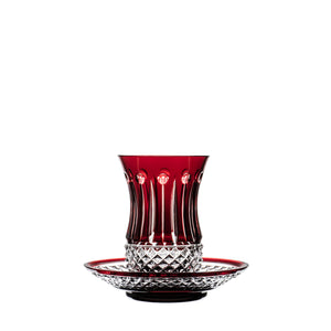 Ajka-Fabergé Xenia Ruby Red Tea cup