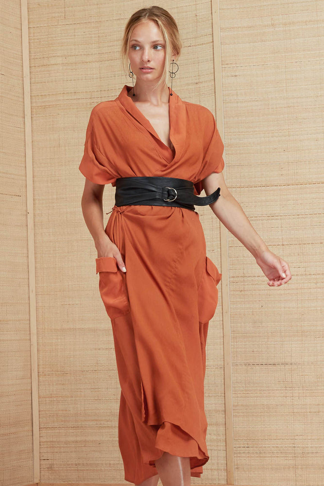 Lexa Wrap Dress