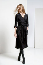 Saxon Wrap Dress