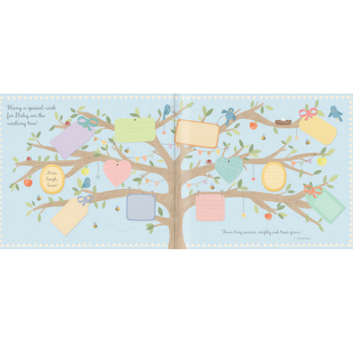 Wishes for Baby - Baby Shower Guest Book - CTM Carepackages